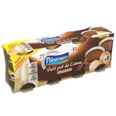 Dessert lacté au chocolat et aux œufs extra frais (Paturages)
