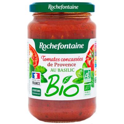 Rochefontaine concassé de tomates de provence bio au basilic 350g (Rochefontaine)