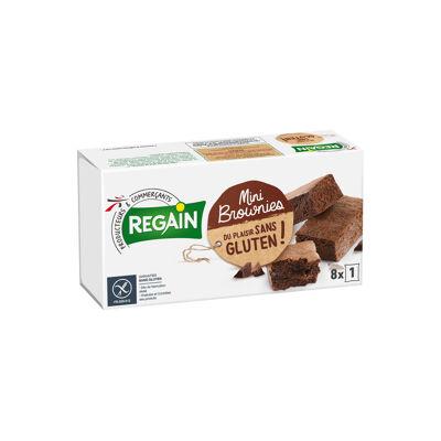 Mini brownies sans gluten (Regain)