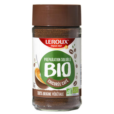 Leroux chicorée café soluble bio 100g (Leroux)