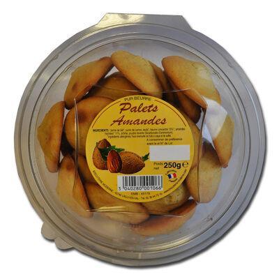 Palets pur beurre amande blister 250g biscuiterie moderne (Biscuiterie moderne)