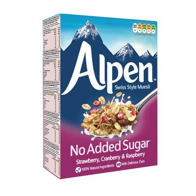 Céréales muesli alpen fruits rouges sans sucre ajouté (Alpen weetabix)