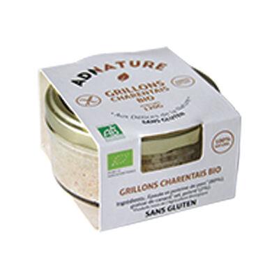 Grillons charentais bio sans gluten 120g (Adnature)