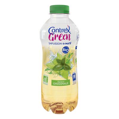 Contrex green bio infusion de maté saveur originale à base d'eau minérale contrex 75cl (Contrex)