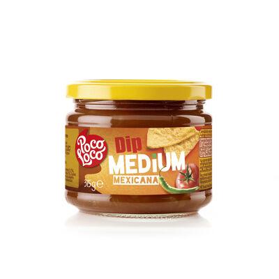 Poco loco salsa dip medium 315 g (Poco loco)