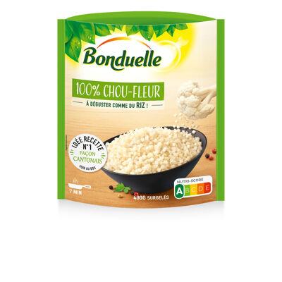 100% chou-fleur à déguster comme du riz 400g (Bonduelle)