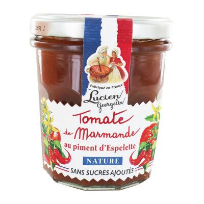 Sauce tomate de la region de marmande au piment d'espelette - nature ssa 300g (Les recettes cuites au chaudron)