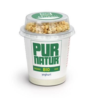 Pur natur yaourt brasse bio nature + muesli 160g (Pur natur)