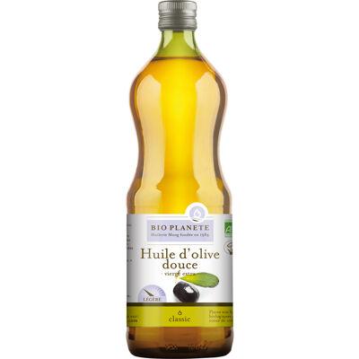 Huile d'olive vierge extra douce 1l (Bio planète)