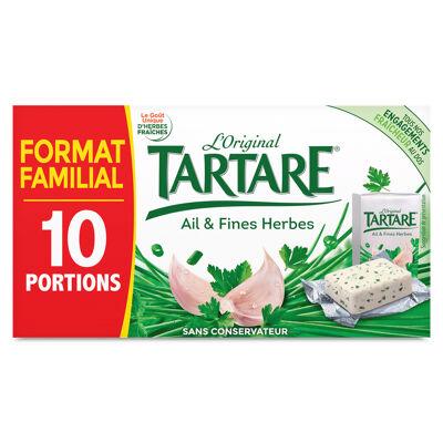 Tartare ail et fines herbes 10 portions calf 160g (Tartare)