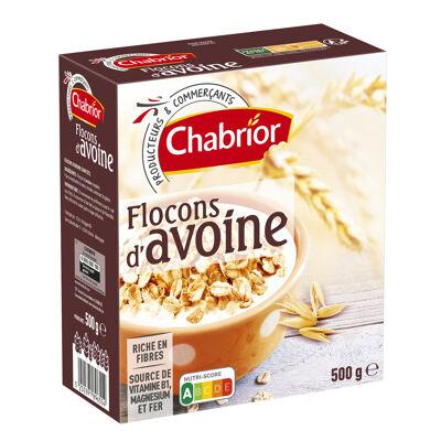 Flocons d'avoine complète (Chabrior)