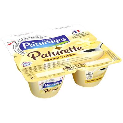 Crème dessert saveur vanille (Paturages)