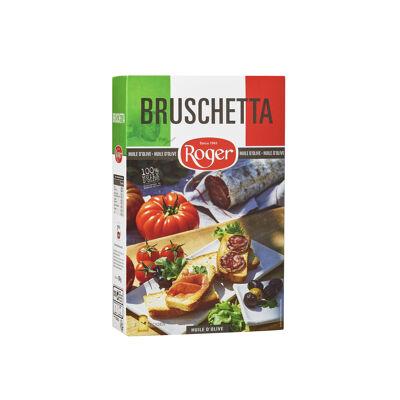 Bruschetta grillée huile d'olive (Les biscottes roger)
