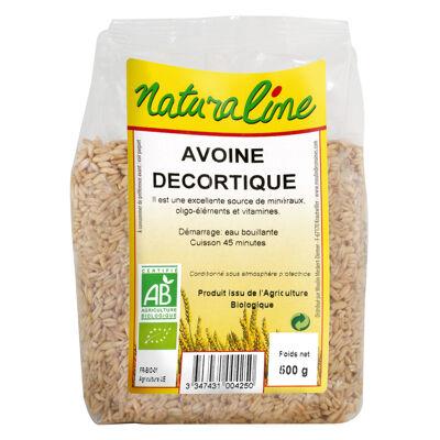 Avoine decortique bio 500 g (Naturaline)