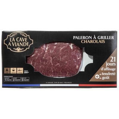 1x steak**(paleron) 180g charolais cav (La cave à viande)
