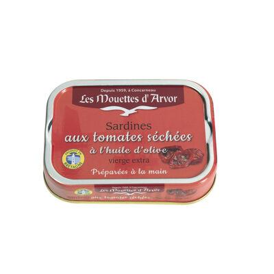 Sardines aux tomates séchées et à l'huile d'olive vierge extra (Les mouettes d'arvor)
