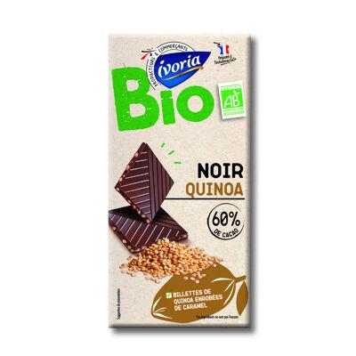 Chocolat noir quinoa bio (Ivoria)