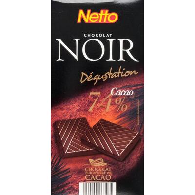 Tablette degustation - chocolat noir 70% (Netto)