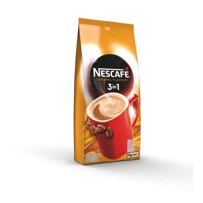 Nescafé mix 3en1saveur caramelpoche de 1kg (Nescafé)
