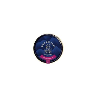 Caviar d'esturgeon blanc transmontanus 50g ce52 (Dom petroff)