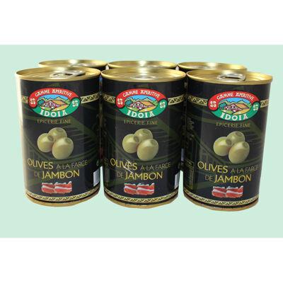 Idoia olives jambon lot x 4 + 2 offertes (Idoia)