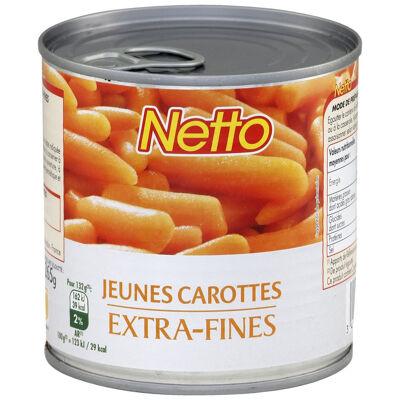 Carottes extra fines - 1/2 (Netto)