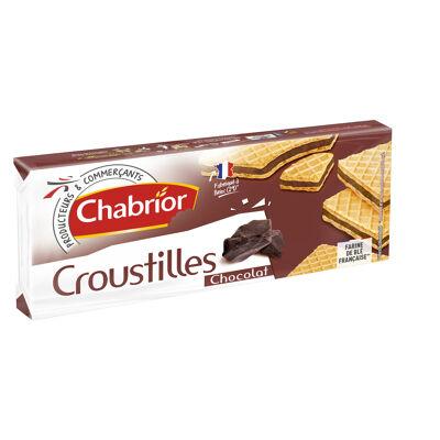 Gaufrettes avec 72% de fourrage au chocolat (Chabrior)