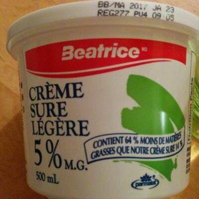 Crème sure légère (Beatrice)
