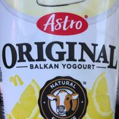 Original balkan yogourt lemon (Astro)