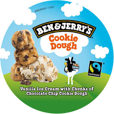 Ben & jerry's glace cookie dough vanille 500 ml (Ben & jerry's)