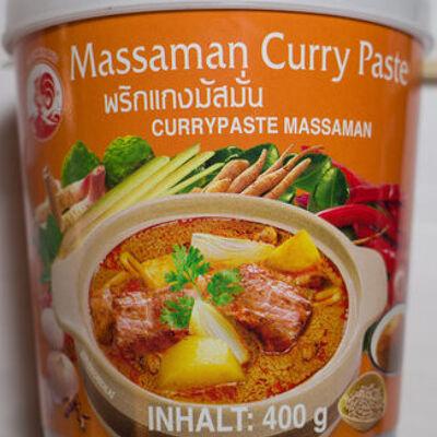 Pate de curry matsaman (Cock brand)