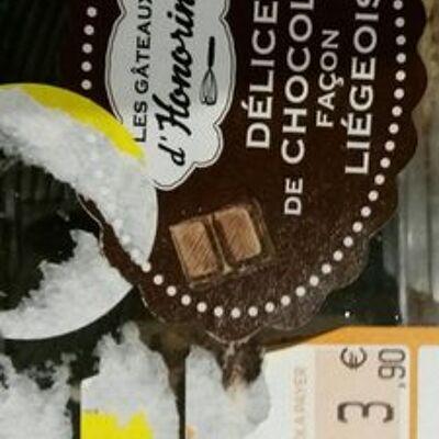 Délice de chocolat façon liégeois (Les gâteaux d'honorine)