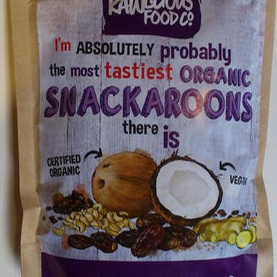 Cookies noix de coco, dattes et noix de cajou (The rawlicious food company)