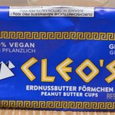 Cleo's peanut butter cups (Go max go foods)