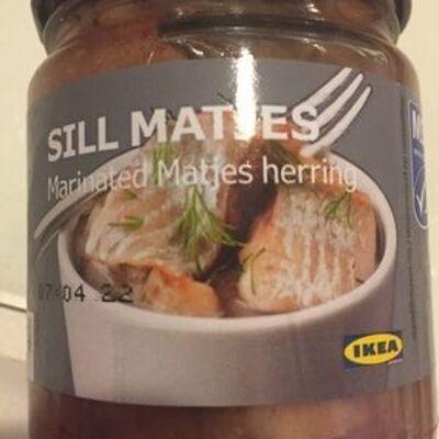 Sill matjes, matjesfilets geschnitten (Ikea)