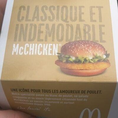 Mc chicken (Mcdonald's)