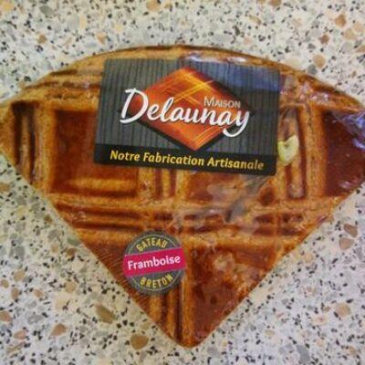 Gâteau breton framboise (Delaunay)