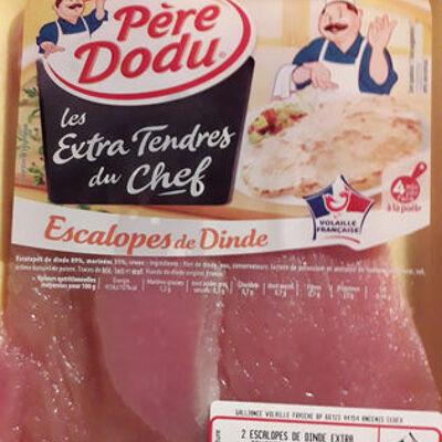 Les extra tendre du chef ,escalope de dinde (Père dodu)