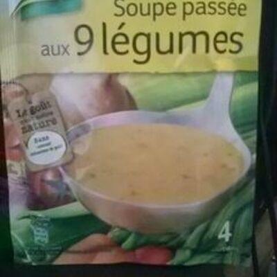 Knorr soupe déshydratée passée aux 9 légumes 105g 4 portions (Knorr)