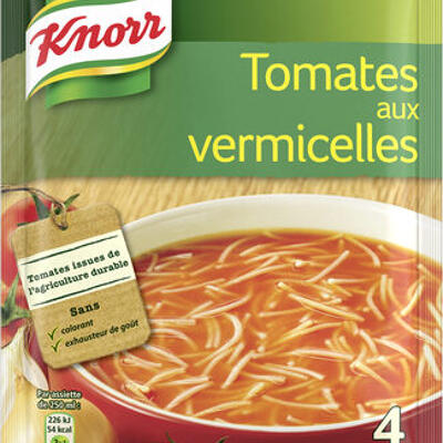 Knorr soupe tomates aux vermicelles 67g 4 portions (Knorr)
