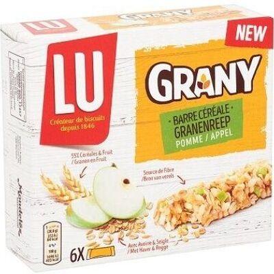 Barre de céréales pomme (Lu)