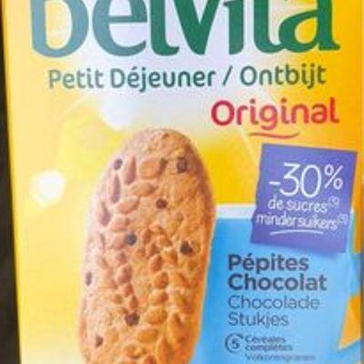 Belvita petit déjeuner oririnal -30 % de sucres (Lu)