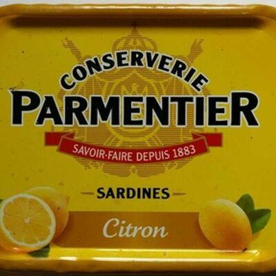 Sardines citron (Conserverie parmentier)