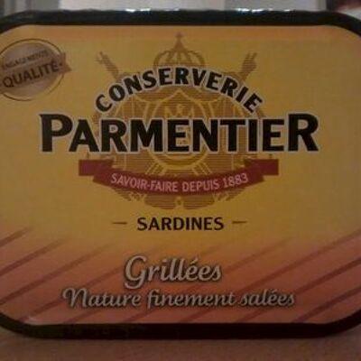 Sardines (grillées, sans huile) (Conserverie parmentier)
