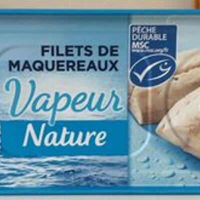 Filets de maquereaux vapeur nature (Petit navire)
