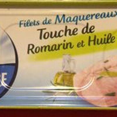 Filets de maquereaux touche de romarin & huile d'olive (Petit navire)