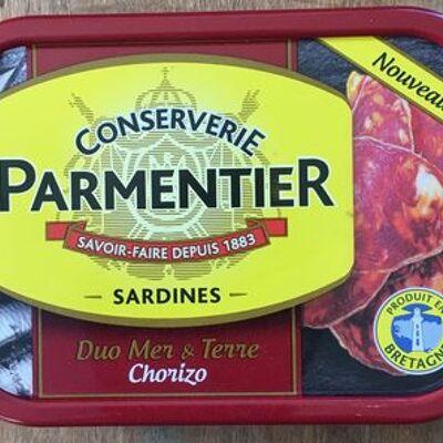 Sardine duo mer & terre chorizo (Parmentier)
