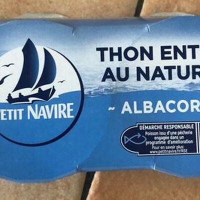Thon antier au naturel (Petit navire)