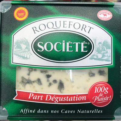 Roquefort aop (part dégustation) (Société)
