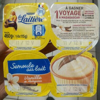Semoule au lait (La laitière)